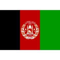Vlag Afghanistan | Afghaanse vlaggen 100x150cm Deze vlag bestaat uit drie verticale banen: een zwarte, een rode en een groene. Op de vlag van drie verticale strepen, waar de zwarte kleur - de kleur van de historische en religieuze vlaggen, rood - de kleur van het oppergezag van de koning en het symbool van de strijd voor vrijheid, en groen - de kleur van hoop en succes. Het centrale embleem is het klassieke wapenschild van Afghanistan.
