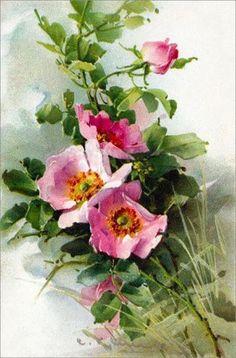 Fleurs et bouquets Vintage. Discussion sur LiveInternet - service russe journal en ligne