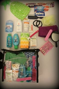Build a Mombies Bag- Personal Hygiene Kit