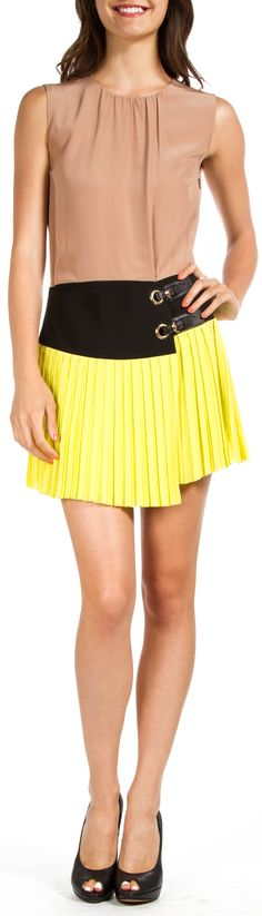 I would probably need the yellow on top with my complexion (don't do beige very well) But loving this - Gucci Dress @SHOP-HERS