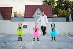 Items similar to Power Puff girls inspired costumes Blossom & Bubbles for Jamie on Etsy Halloween Costumes Triplets, Powerpuff Girls Halloween Costume, Disney Family Costumes, Dress Up Costumes, Girl Costumes, Costume Ideas, Halloween Outfits, Kylie Birthday, Girl Birthday