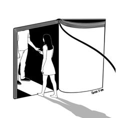| Book Lover | by Henn Kim Go Get Art Print