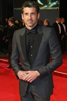 Pin for Later: The Full Cast of Bridget Jones's Baby Patrick Dempsey Dempsey is the new kid on the block! He's playing Jack Qwant, Bridget's new love interest.