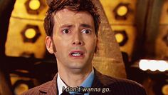 "When the 10th Doctor was regenerating and wasn't ready to let go. | 25 Times ""Doctor Who"" Got Way, Way Too Real"