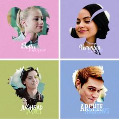 Betty Verionica Jughead Archie RIVERDALE Creds: riverdaleisbae on tumblr • • #bughead #sprousehart #varchie…""