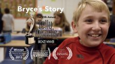 I'm excited and honored to announce that Bryce's Story has been selected for a Telly Award this year! We won for the Charitable/ Non-Profit category. I remain very proud of this piece and I am happy to see it honored in this way.
