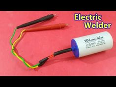 An Electric spot welding capacitor Spot Welder, Pvc Pipe Projects, Cordless Tools, Welding Machine, 12v Led, Pc Cases, Electronics Projects, Dental Health, Arduino