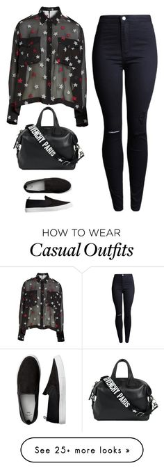 """""""Sin título #2707"""" by lorena117 on Polyvore featuring rag & bone and Givenchy"""