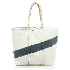 Angela Adams® and Sea Bags for J.Crew diagonal-stripe sail bag $198.00