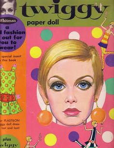 Twiggy Paper Doll