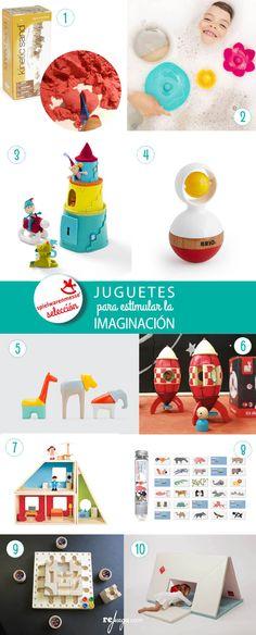 Selección de 10 juguetes para estimular la imaginación de los niños
