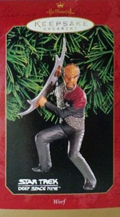 Star Trek Christmas Ornaments - Worf