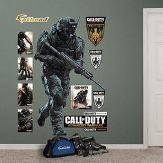 Fathead Call Of Duty Marine Advanced Warfare Decal   Wall Sticker Outlet