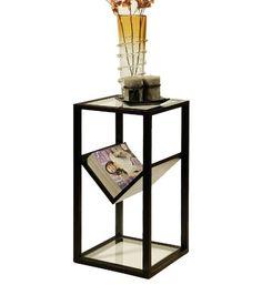 Abbyson Living Heritage Glass End Table Bookshelf Abbyson... http://a.co/8JbEltq