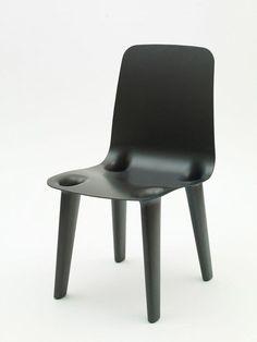 Marc Newson. Carbon Chair. 2007. Gagosian Gallery, London.: