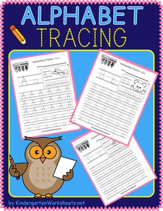 Our kindergarten writing worksheets offer both cursive and print letters. Writing the alphabet takes some motor skills. It is important for kindergarten students to develop this skill early so that they can master writing the alphabet. Beginning Of Kindergarten, Kindergarten Learning, Kindergarten Centers, Learning To Write, Learning Letters, Writing Practice, Kindergarten Worksheets, Teaching, Alphabet Writing