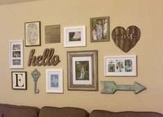 Sister's gallery wall!