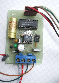 Controlling steppermotors with ATtiny13