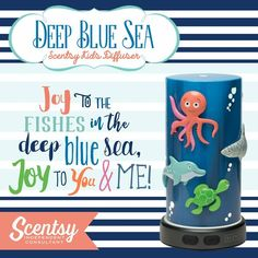~Joy to the fishes in the deep blue sea #home #love #diffuser https://casies.scentsy.us