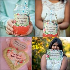 DIY Engagement Party Projects & Free PrintablesConfetti Daydreams – Wedding Blog