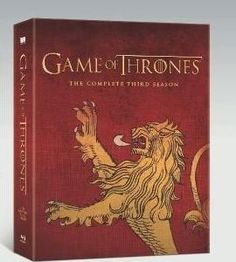 Game of Thrones: Complete Third Season Limited Edition House Lannister Sigil Packaging [Blu-ray DVD Digital Combo]  $79.99 http://gameofthronescentral.com/?product=game-of-thrones-complete-third-season-limited-edition-house-lannister-sigil-packaging-blu-ray-dvd-digital-combo #Lannister #season3 #Limitededition