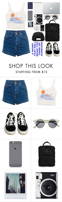 """// travel, because the world is beautiful"" by indierock-isbae ❤ liked on Polyvore featuring Pull&Bear, Passport, Billabong, Vans, Retrò, Fjällräven, Polaroid and Fuji"