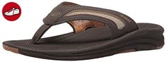 Reef FLEX, Herren Zehentrenner, Grau (DARK BROWN/TAN DBT), 44 EU - Reef schuhe (*Partner-Link)