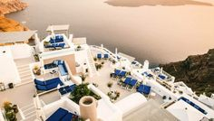 Santorini - Elevated Property - Afternoon