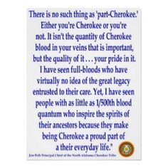 Cherokee Blood