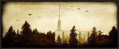 Wooden Temple Plaques $50  Seattle, Washington Temple