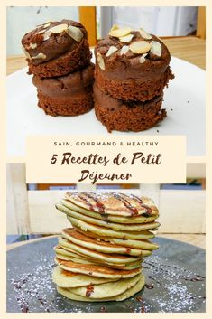 So feast on these 5 healthy breakfast recipes. Eat well (yes, it is important: p) without guilt, without extra pounds. Healthy Cake, Healthy Sweets, Healthy Breakfast Recipes, Healthy Cooking, Healthy Recipes, Petit Dej Vegan, Italian Dinner Recipes, Bowl Cake, No Sugar Foods
