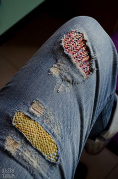 Ravelry: Plektou's Two jeans patches