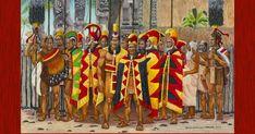 Royal Marriage, Polynesian Art, Hawaii Pictures, Hawaiian Art, Honolulu Hawaii, Kauai, In Ancient Times, Hawaiian Islands, Native Art