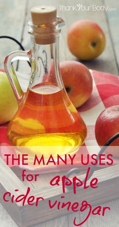 There are so many uses for apple cider vinegar! This amazing ingredient can be used internally and externally for better health, natural beauty, and a cleaner home.