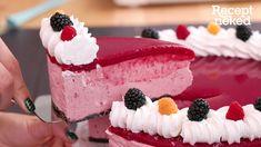 Erdei gyümölcsös torta Raspberry, Fruit, Food, Youtube, Essen, Meals, Raspberries, Yemek, Youtubers