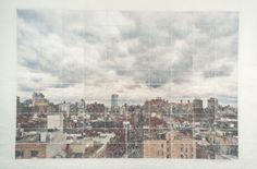 Germán Gómez, 12:58 pm. April 1st. 2012. 235 Bowery Street. New York, 2013, c-print, paper, varnish, 44 x 67 in  #BridgetteMayerGallery #GermanGomez