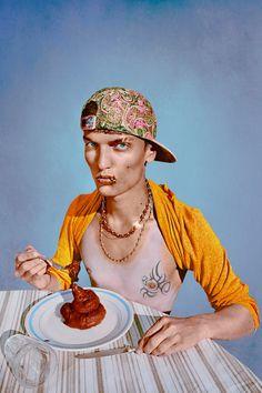 What I Eat - Marwane Pallas - A MTV KID 2013, edition of 7 Diasec