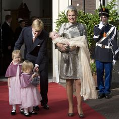 A third girl, Princess Ariane, joined the family on 10 April,  2007. Willem-Alexander later joked they had chosen three names beginning with an A to get a triple AAA rating.