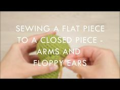 Last week I talked about crocheting and finishing flat pieces. Today I will show how to sew them to a closed piece, depending on whether you want them to stand up, like teddy ears or straight bunny ears, or lay flat against the closed piece, like floppy… Crochet Classes, Crochet Videos, Learn To Crochet, Crochet Tutorials, Crochet Amigurumi Free Patterns, Crochet Stitches, Knit Crochet, Free Crochet, Single Crochet Decrease