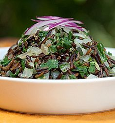 Wild Rice and Greens Recipe from Ayurveda Today, Journal of the Ayurvedic Institute