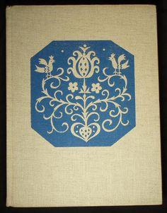 1956 Book Slovak Czech Folk Art Carving Costume Embroidery Pottery Sculpture
