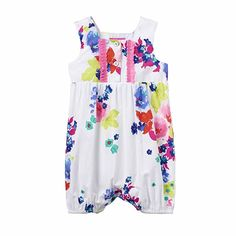 Joules Baby Woven Spielanzug - Ocean Bloom - 18-24 months / 92 cms