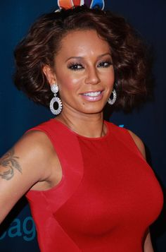 Mel B at 'America's Got Talent' Season 8 Post Show Finale Red Carpet Event at Radio City Music Hall in New York City, September 18, 2013