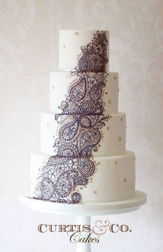 111 Best Henna Cake Designs Images Decorated Cookies Piping