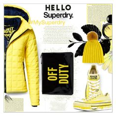"""Untitled #280"" by dragananovcic ❤ liked on Polyvore featuring Superdry, Converse, MAC Cosmetics, Lisa Perry, DANIELAPI and Kate Spade"