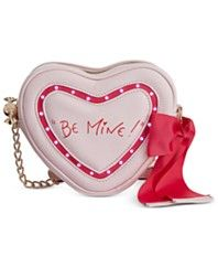 Betsey Johnson Candy Heart Light Up Crossbody