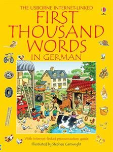 The Usborne First Thousand Words in German provides a wealth of vocabulary-building opportunities for language learners of all ages. Stephen Cartwright's delightful pictures encourage direct association of the word with the object, which will ensure effective, long-term learning.