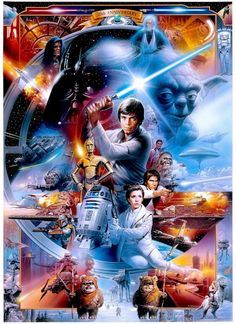This poster is what my Star Wars leggings are :)