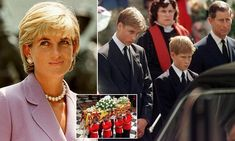 Hidden turmoil behind Diana's funeral revealed