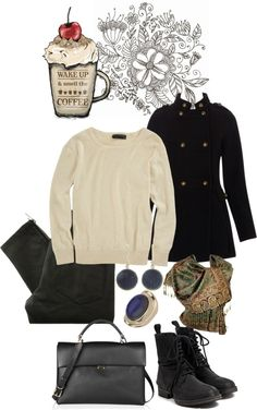 """""""coffee road"""" by dolhascudiana ❤ liked on Polyvore"""